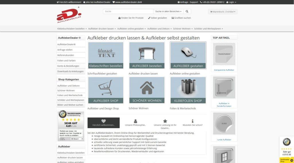Hier klicken um zur Website von www.aufkleberdealer.de zu gelangen