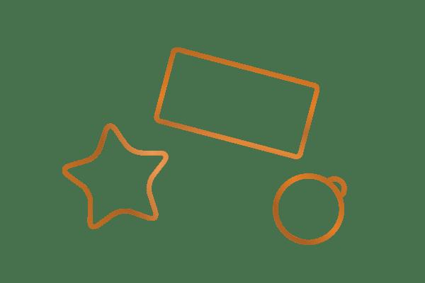 Icon der Kategorie individuelle Aufkleber