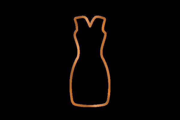 Icon der Kategorie Kleider nach Maß