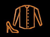 Icon der Kategorie Kleidung & Schuhe nach Maß