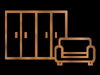 Icon der Kategorie Möbel nach Maß