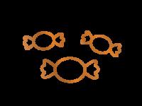 Icon der Kategorie individuelle Süßigkeiten