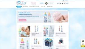 Hier klicken um zur Website von www.meinebabyflasche.de zu gelangen