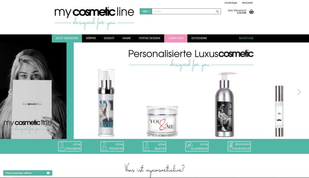 Hier klicken um zur Website von www.mycosmeticline.de zu gelangen