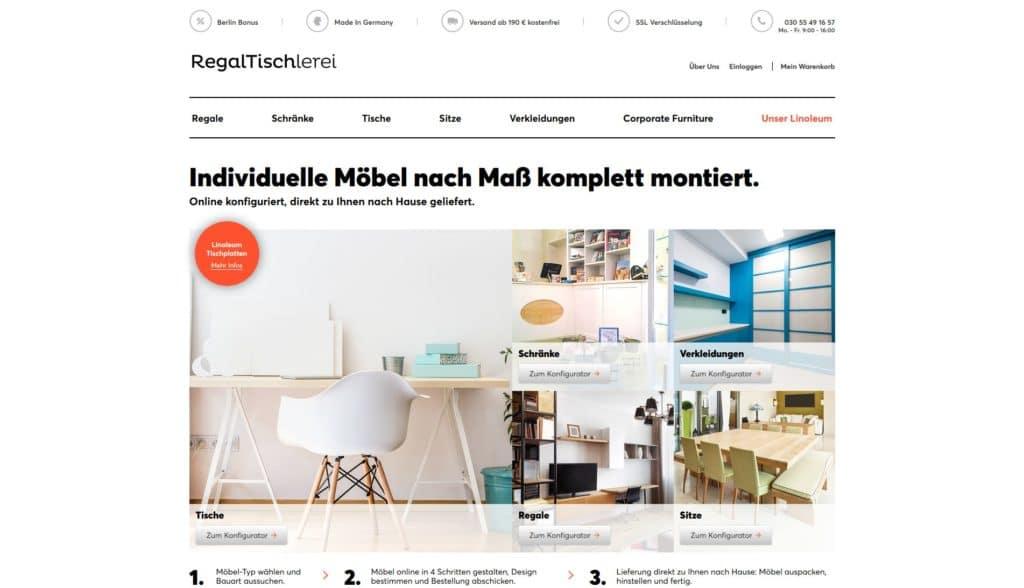 Hier klicken um zur Website von www.regaltischlerei.de zu gelangen
