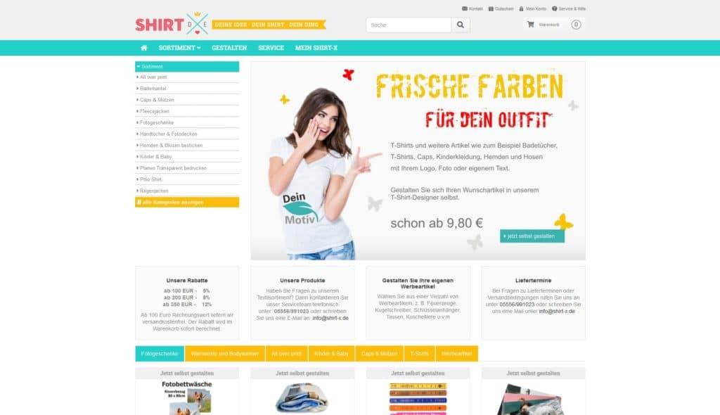 Hier klicken um zur Website von www.shirt-x.de zu gelangen
