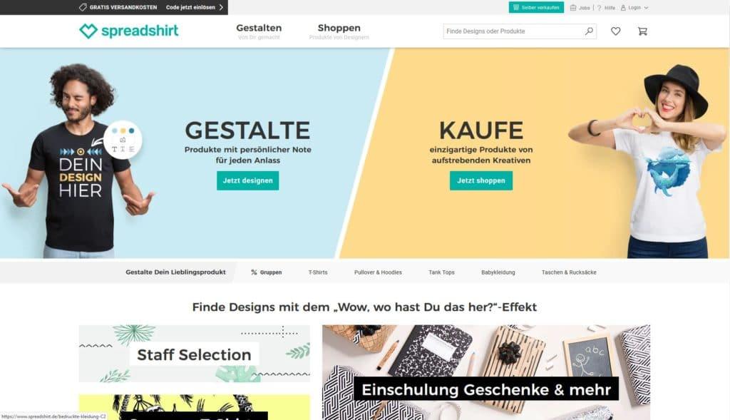 Hier klicken um zur Website von www.spreadshirt.de zu gelangen