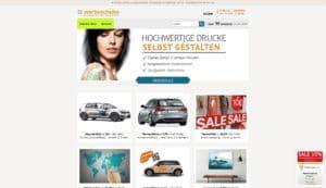 Hier klicken um zur Website von www.werbescheibe.de zu gelangen